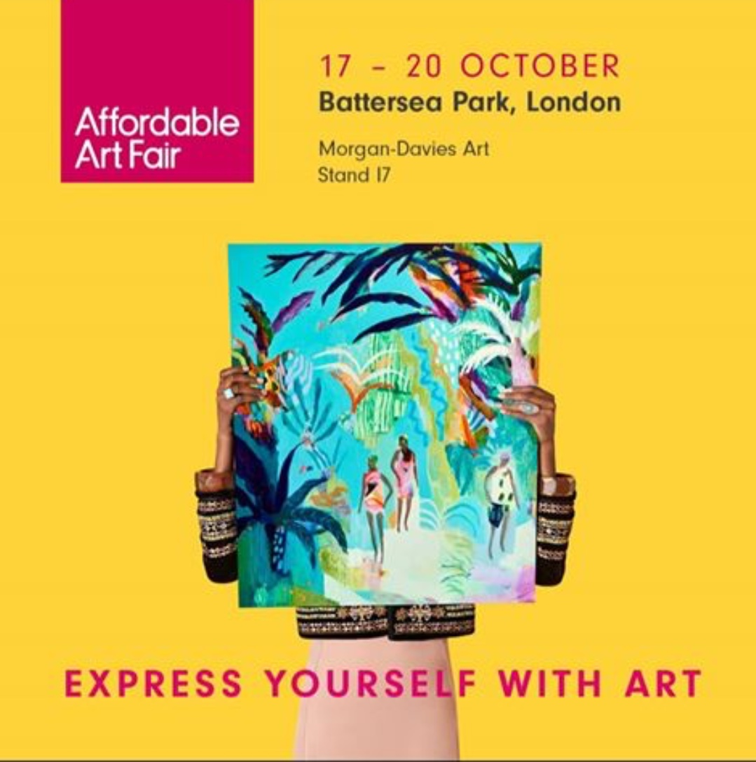 MORGAN-DAVIES ART at The Affordable Art fair 2019 , Battersea, London