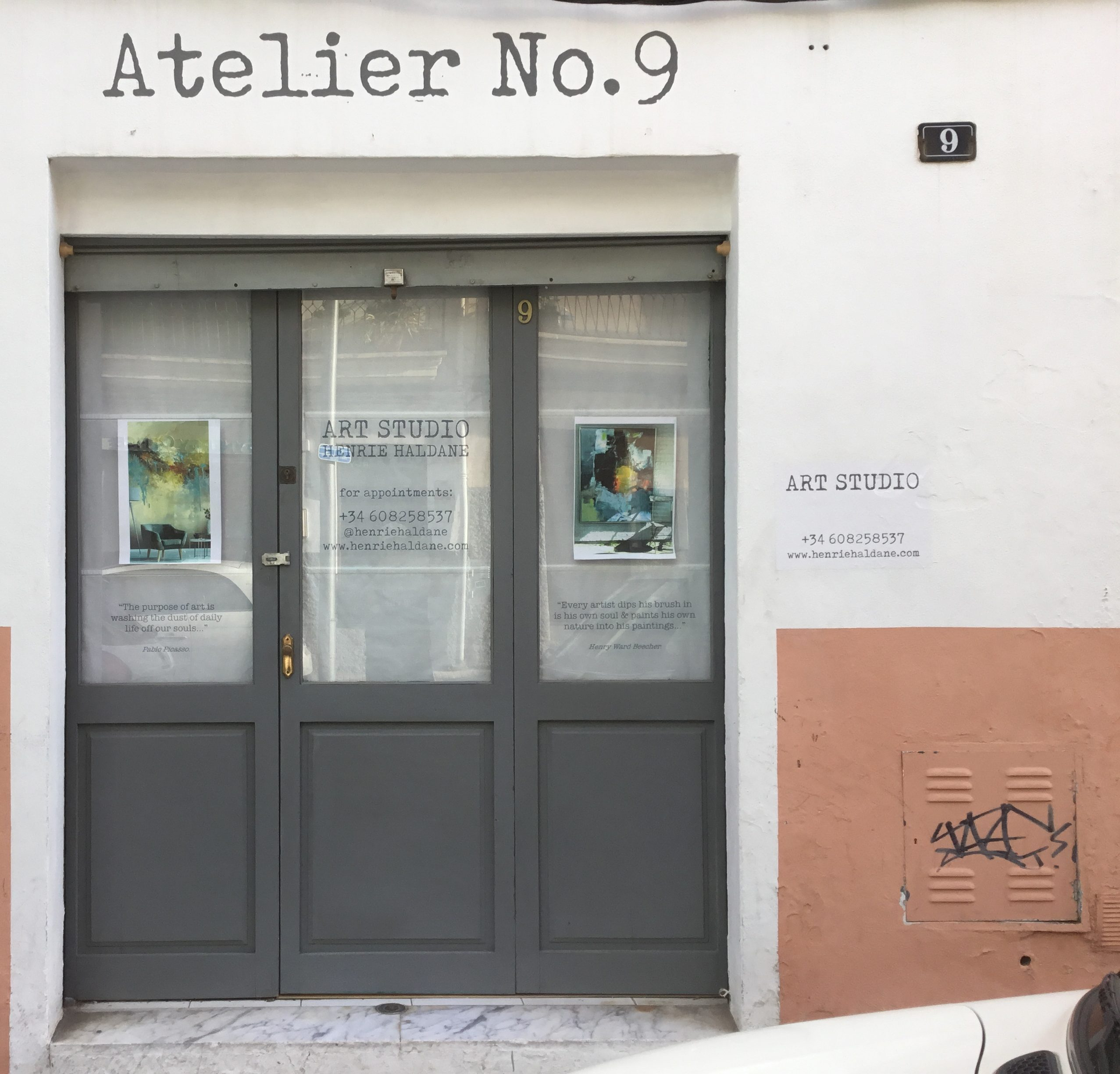 ATELIER NO.9 Studio exhibition